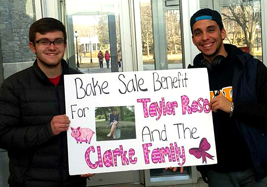 Bake Sale for Taylor